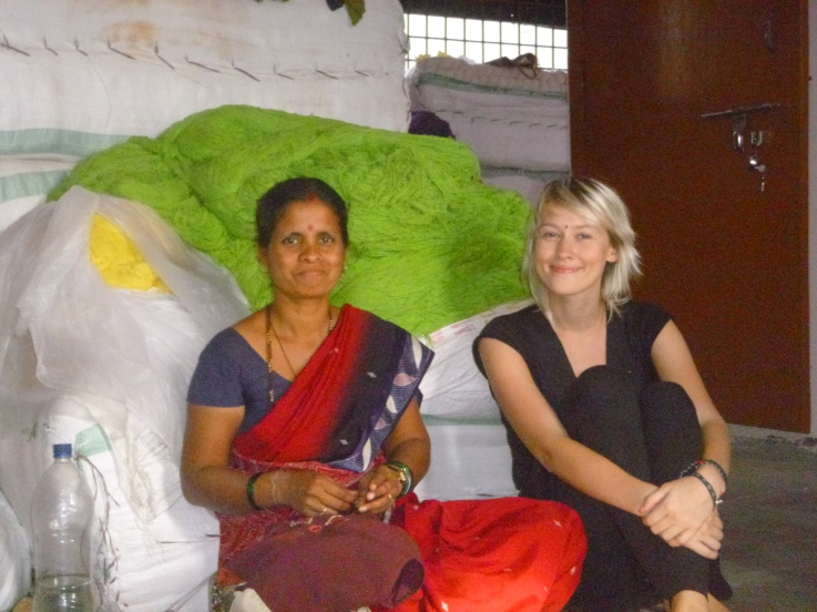 Embroidering At Sabala in Bijapur