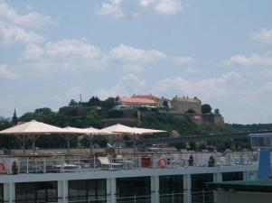 Far away view of the fortress