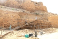 Scaffolding, Jaisalmer Fort, India