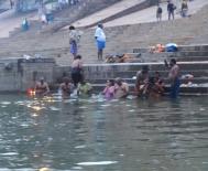Bathing and prayer Varanasi, India