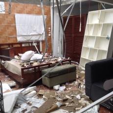 Typhoon Damage Hanoi