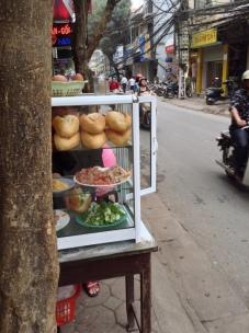 Banh My Stall Hanoi