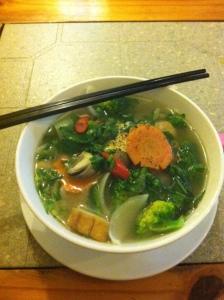 Vietnames Vegetable Pho